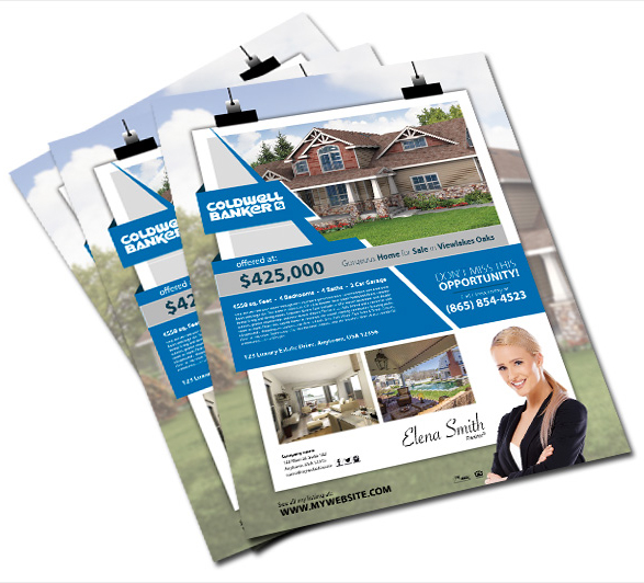 Real Estate Flyers Feature Sheets And More